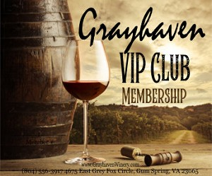 Grayhaven VIP Club Membership for 1